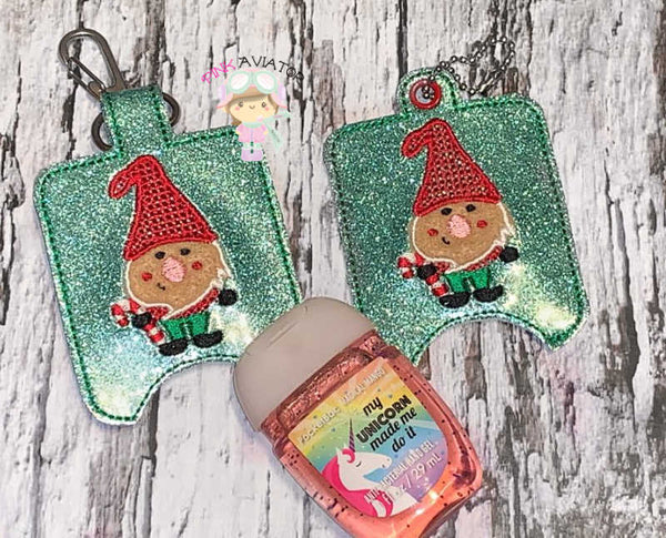 Gnome Small Hand Sanitizer Snap and Eyelet