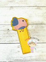 Green Bird Bookmark