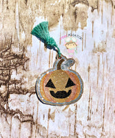 Happy Pumpkin Bookmark