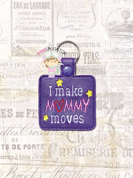 I Make Mommy Moves Snaptab and Eyelet