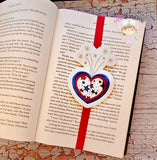 Independent Heart Applique Bookband