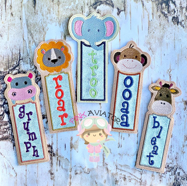 Jungle Animal Bookmarks