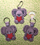 Koala Love Snaptab and Eyelet