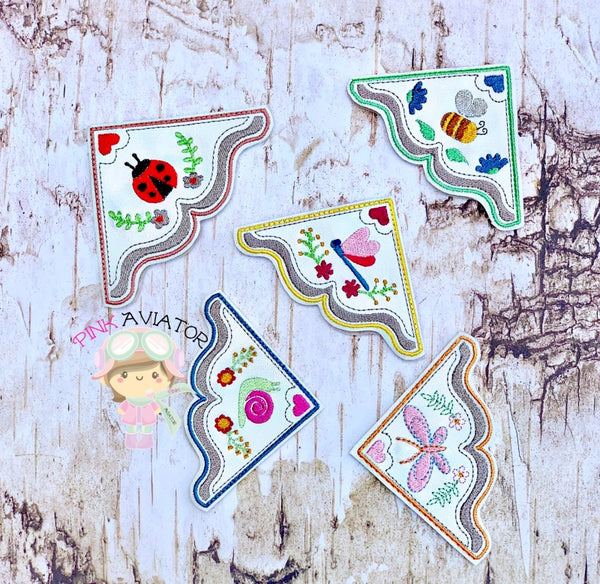 Little Creature Bookmark Set of 5