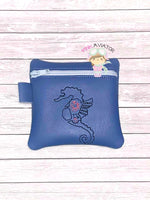Punk Seahorse Bag 3 Sizes
