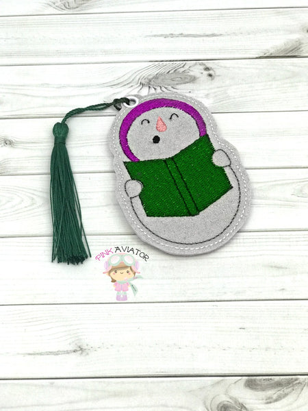 Singing Snowman Bookmark