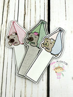 Baby Girl Sleeping Sketch Bookmark
