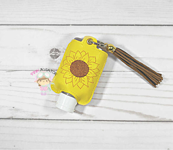Sunflower Small Handsanitizer Snap and Eyelet
