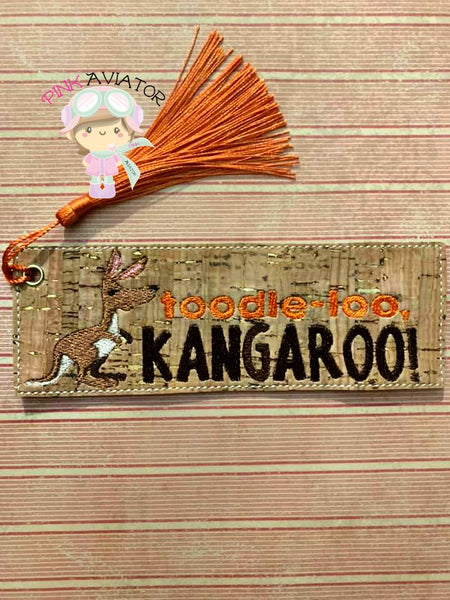 TooLoo Kangaroo Bookmark