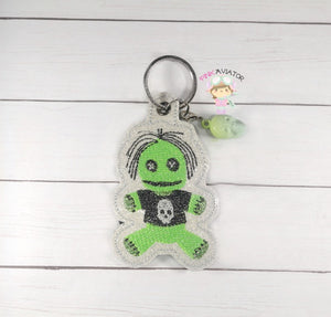 VooDoo Doll Snaptab and Eyelet