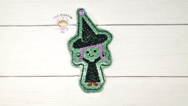 Witch Zipper Pull