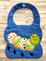Wormy Bib 2 Sizes