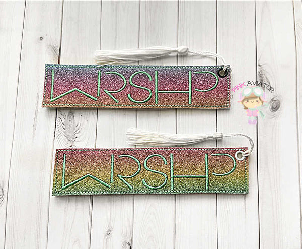 Worship Bookmark