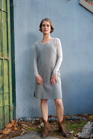 Syd Dress Grey