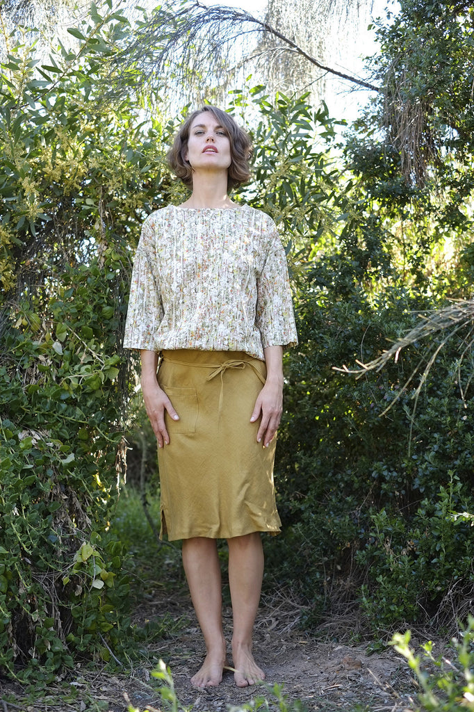 Siera Skirt - Golden Yellow