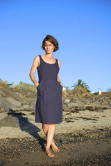 Charlie Dress - Navy