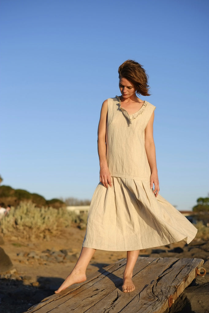 Lilly Dress - Natural