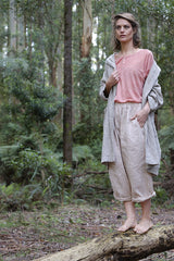 Gallegos jacket - French linen