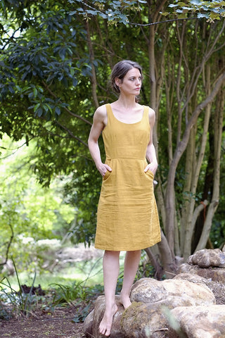 Charlie dress - daffodil