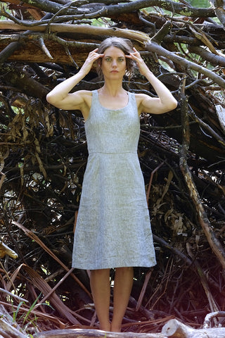 Charlie sundress - light grey