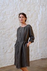 Charles Dress Japanese Washer Linen Iron