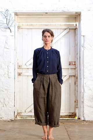 Magnus Pants Japanese Washer Linen Iron
