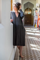Dhasha dress - graphite