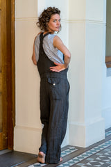 Guide overalls - french linen graphite