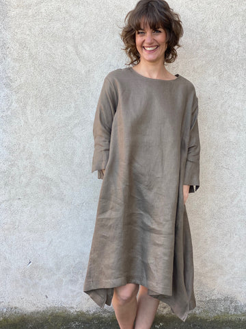 Luna Dress Bronze