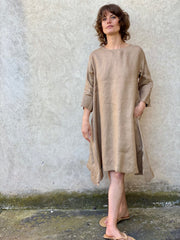 Luna Dress Gold