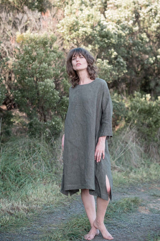 Luna dress / Olive green