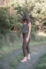 Arkie pants / Olive gold