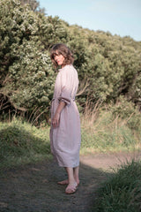 Marianne shirt dress / Floss pink