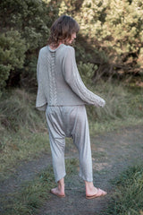 Arkie pants / Silver grey