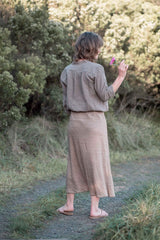 Arlo skirt / Bronze