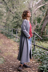 Caravel Coat Italian Wool - Grey