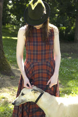 Tartan Japanese Wool Dress