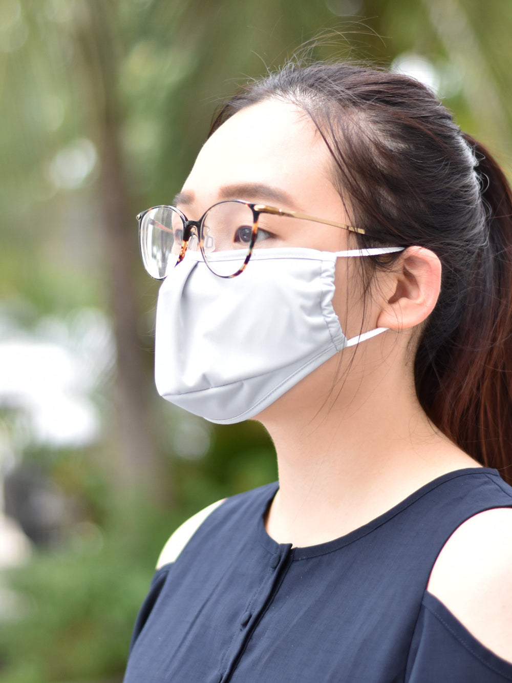 Reusable Face Mask (2 layers) - A pack of 2 pcs