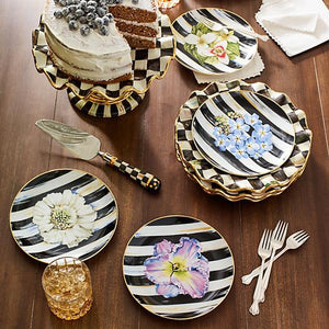 MacKenzie-Childs Courtly Check Bent Pie Server