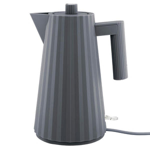 ALESSI ELECTRIC KETTLE PLISSE' - GREY Kitchen Alessi