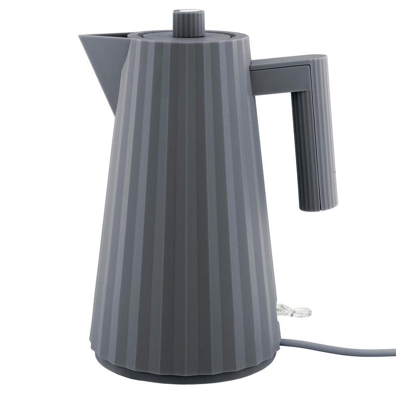 ALESSI ELECTRIC KETTLE PLISSE' - GREY