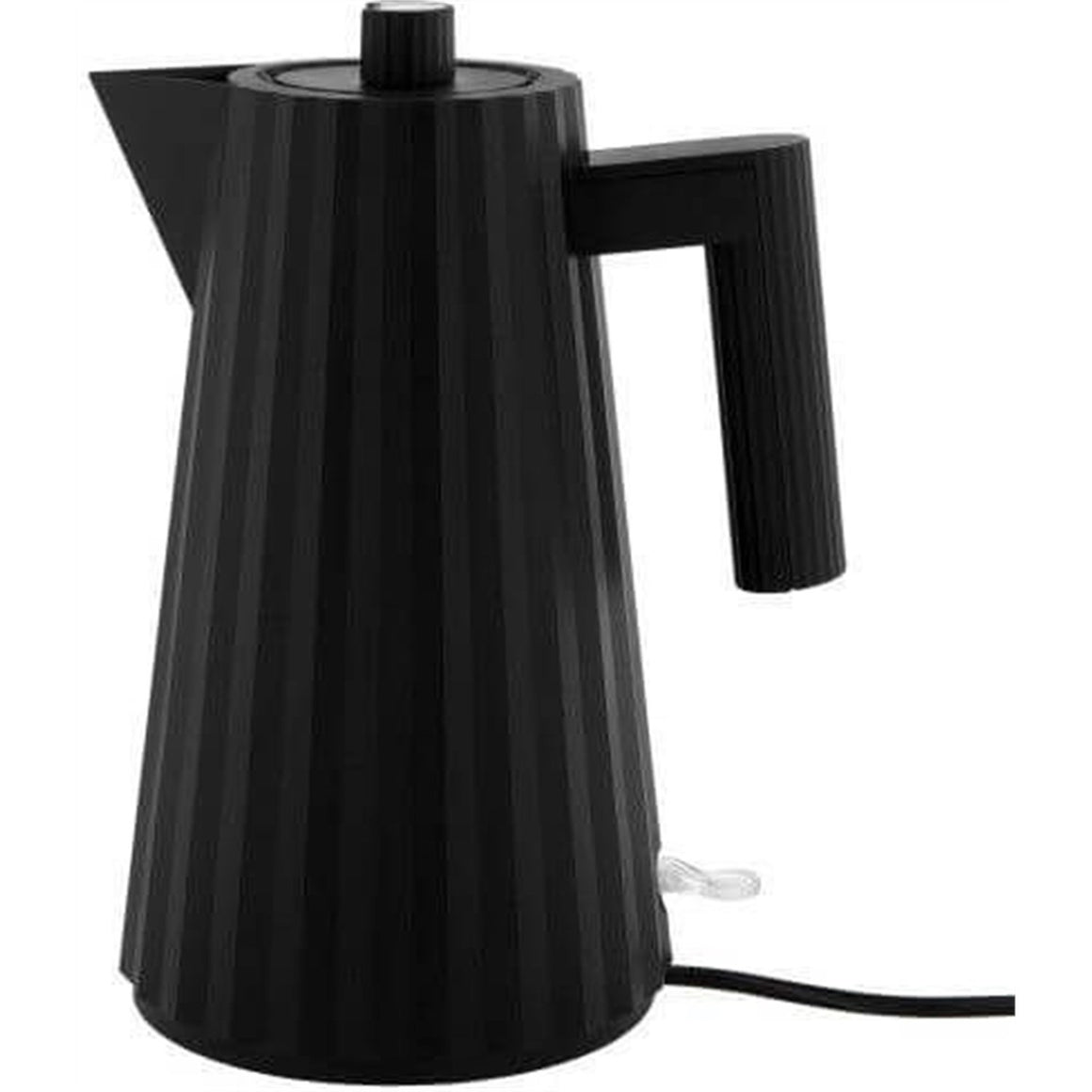 ALESSI ELECTRIC KETTLE PLISSE' - Black Kitchen Alessi