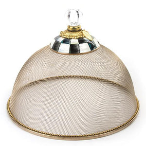 MacKenzie-Childs Courtly Check Mesh Dome - Small