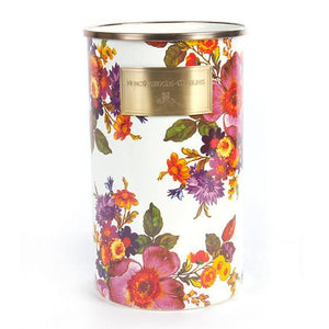 MacKenzie-Childs Flower Market Utensil Holder - White