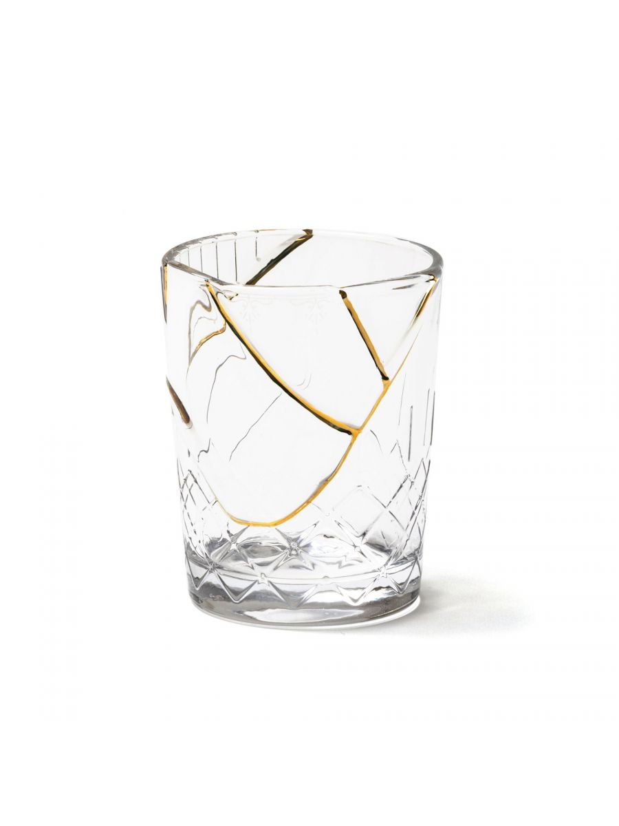 Kintsugi Glass Tableware SELETTI