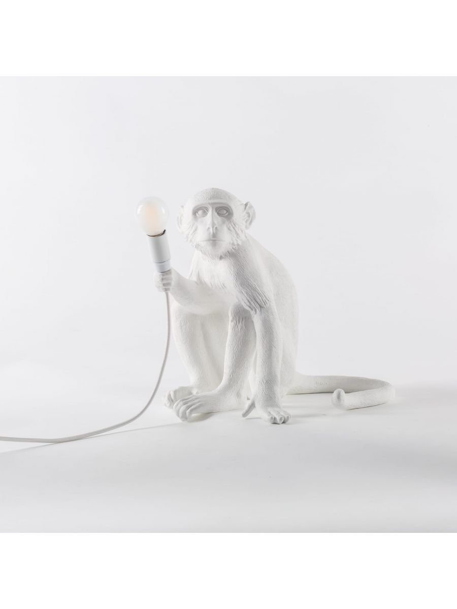 The Monkey Lamp Sitting Version Lighting SELETTI