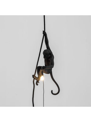 The Monkey Lamp Black Ceiling Version