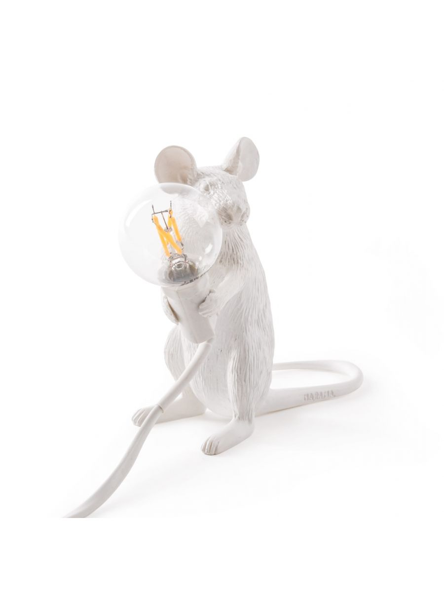Mouse Lamp Sitting Lighting seletti
