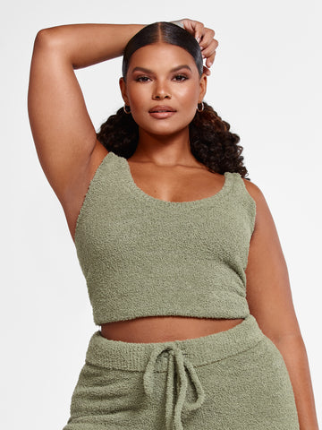 The Cuddle Tank in Olive in Olive