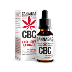 Cannabas - Olio CBC - Olio CBC - 10ml - 500mg CBC